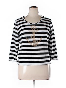 Draper's & Damon's Long Sleeve T-Shirt Size XL (Petite)