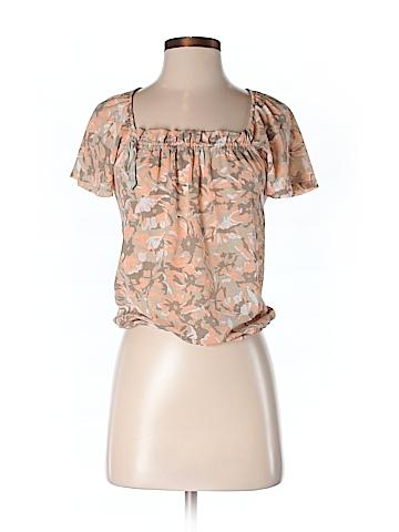 New York & Company Women Short Sleeve Blouse Size XS