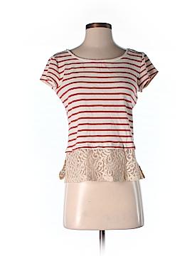 Maison Jules Short Sleeve Top Size S