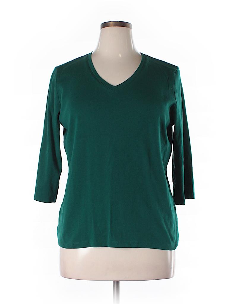St John 39 S Bay 3 4 Sleeve T Shirt 53 Off Only On Thredup
