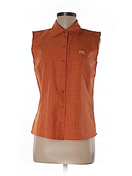Helly Hansen Sleeveless Button-Down Shirt Size M
