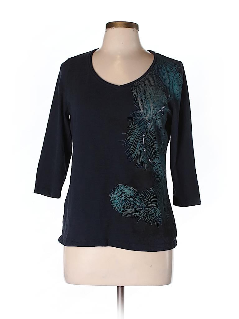 St John 39 S Bay 3 4 Sleeve T Shirt 63 Off Only On Thredup