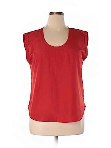 J. Crew Factory Store Sleeveless Blouse Size 14