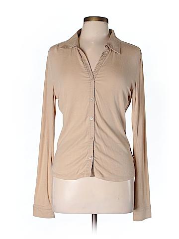 Moda International Women Long Sleeve Top Size L