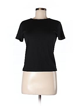 Linda Allard Ellen Tracy Short Sleeve Silk Top Size P (Petite)