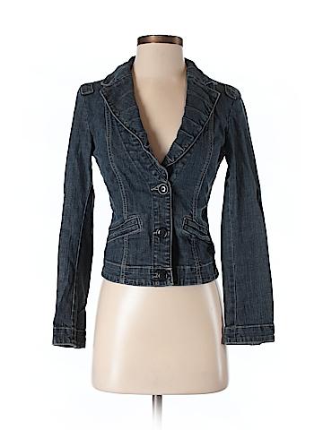 CAbi Women Denim Jacket Size XS