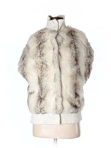 Julie Brown Faux Fur Jacket Size S