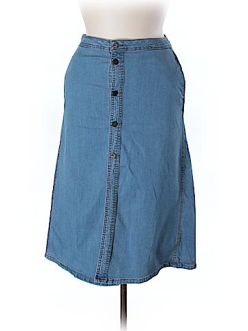 Earl Jean Denim Skirt Size 12