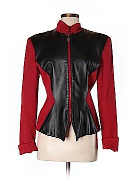 Erez Sport Faux Leather Jacket Size 8