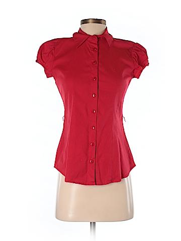Copper Key Short Sleeve Button-Down Shirt Size S