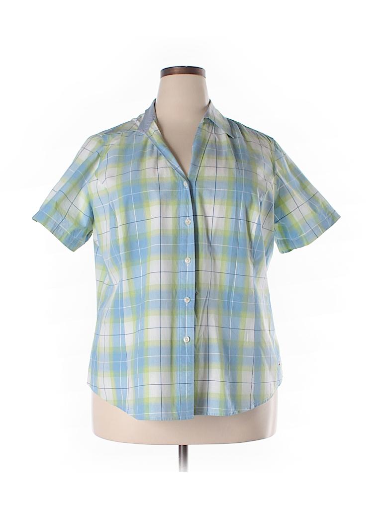 Tommy Hilfiger Short Sleeve Button Down Shirt 72 Off