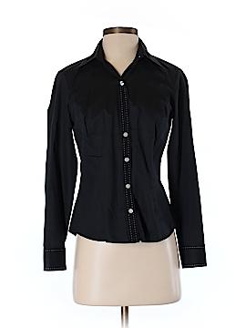 Ann Taylor LOFT Long Sleeve Button-Down Shirt Size 4 (Petite)