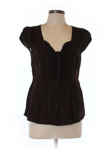 Edme & Esyllte Short Sleeve Blouse Size 12