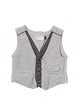 Jean Bourget Tuxedo Vest Size 18 mo