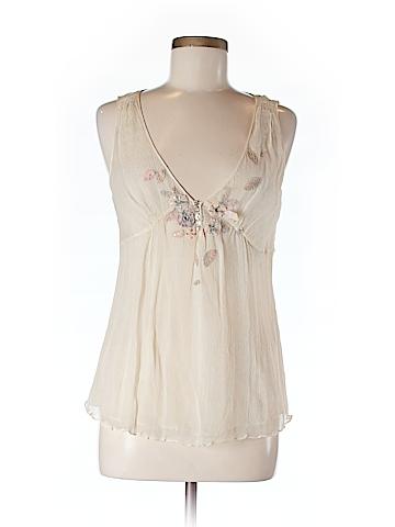 Rebecca Taylor Women Sleeveless Silk Top Size 6