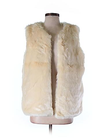 Cara N.Y. Faux Fur Vest One Size