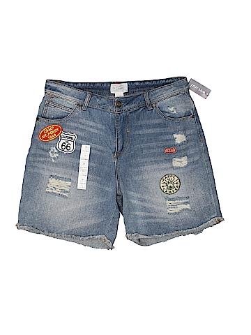 Blue Asphalt  Denim Shorts 28 Waist