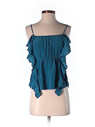 Ecote Sleeveless Silk Top Size S