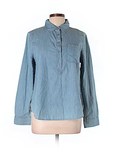 JW (JW Style) Long Sleeve Button-Down Shirt Size L