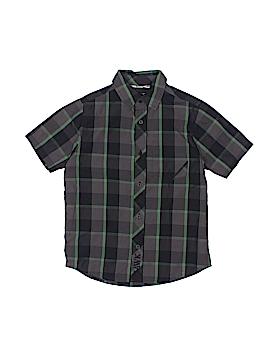 Tony Hawk Short Sleeve Button-Down Shirt Size 5/6