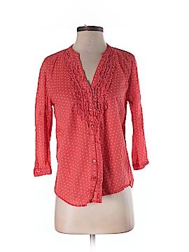 LOFT design by... 3/4 Sleeve Button-Down Shirt Size S