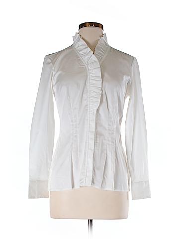 Banana Republic Long Sleeve Button-Down Shirt Size 6 (Petite)