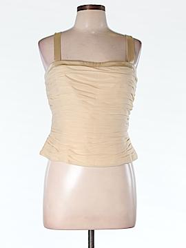 Kay Unger Sleeveless Silk Top Size 12