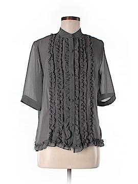 Norma Kamali 3/4 Sleeve Blouse Size M