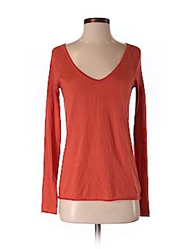 Barneys New York Silk Pullover Sweater Size S