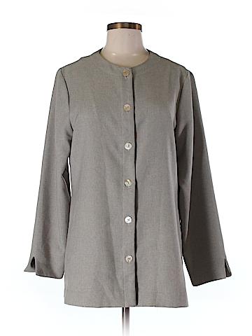 Coldwater Creek Sleeveless Button-Down Shirt Size M