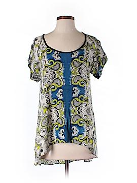 Lola P. Short Sleeve Blouse Size M