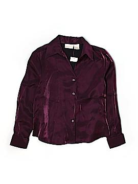 Christie & Jill Long Sleeve Blouse Size 14 (Petite)