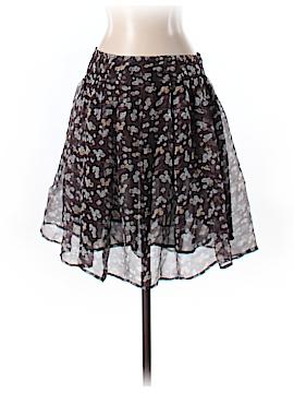 ORGANIC by John Patrick Silk Skirt Size 8