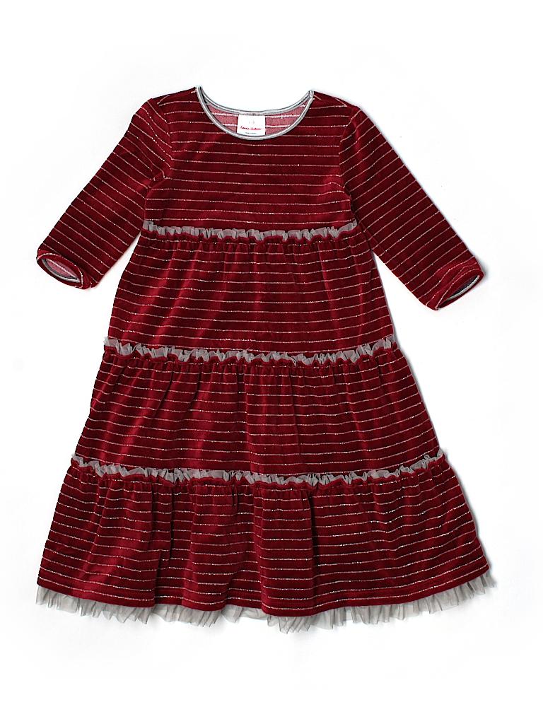 hanna andersson solid red dress size 120 cm 57 off thredup. Black Bedroom Furniture Sets. Home Design Ideas