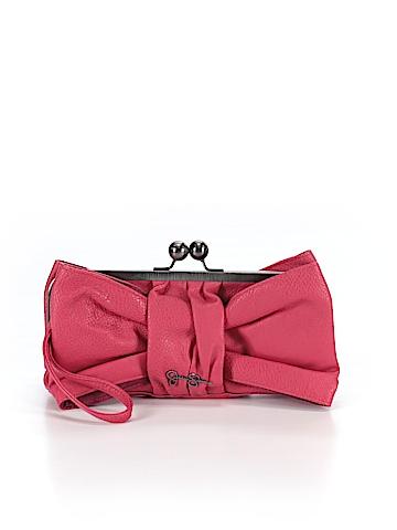 Jessica Simpson Leather Wristlet One Size
