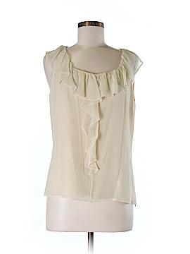 St. John Sleeveless Silk Top Size M