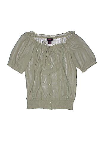 Ultra Flirt Short Sleeve Blouse Size S