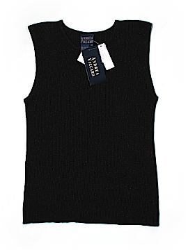 Andrea Viccaro Silk Pullover Sweater Size M