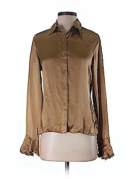 MICHAEL Michael Kors Long Sleeve Silk Top Size 4