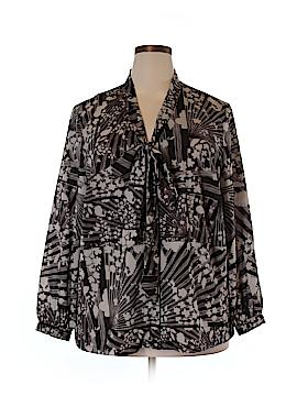 Isabel + Alice Long Sleeve Blouse Size 2X (Plus)