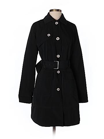 New York & Company Women Trenchcoat Size S