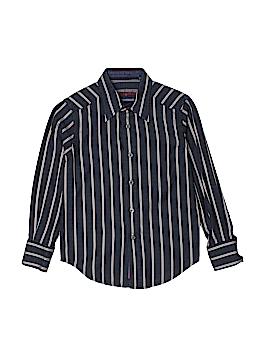 Robert Graham Long Sleeve Button-Down Shirt Size S (Youth)