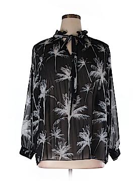 Carmakoma Long Sleeve Blouse Size 16 Plus (S) (Plus)