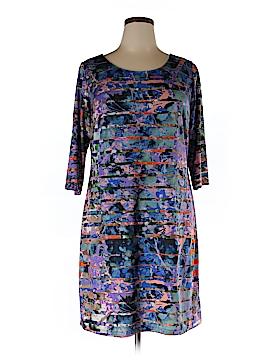 Triste Casual Dress Size 0X (Plus)