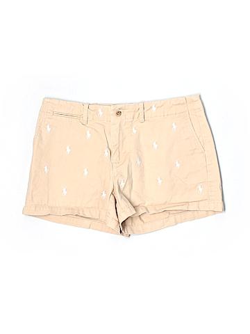 Ralph Lauren Sport Women Khaki Shorts Size 4