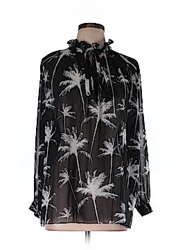 Carmakoma Long Sleeve Blouse Size 10 Plus (XXS) (Plus)