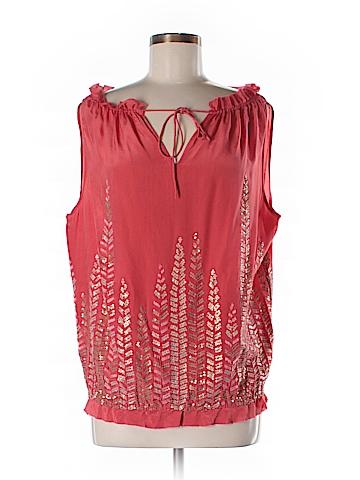 Namrata Joshipura Sleeveless Silk Top Size S
