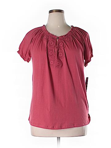 Chaps  Short Sleeve T-Shirt Size 1X (Plus)