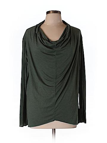 Alternative Apparel Women Long Sleeve Top Size L