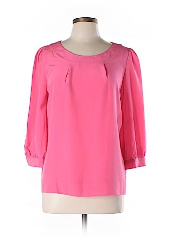 Kate Spade New York 3/4 Sleeve Silk Top Size L
